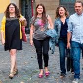 Raquel Romero, Mario Herrera, Nazaret Martín, Amaya Castro y Kiko Garrido