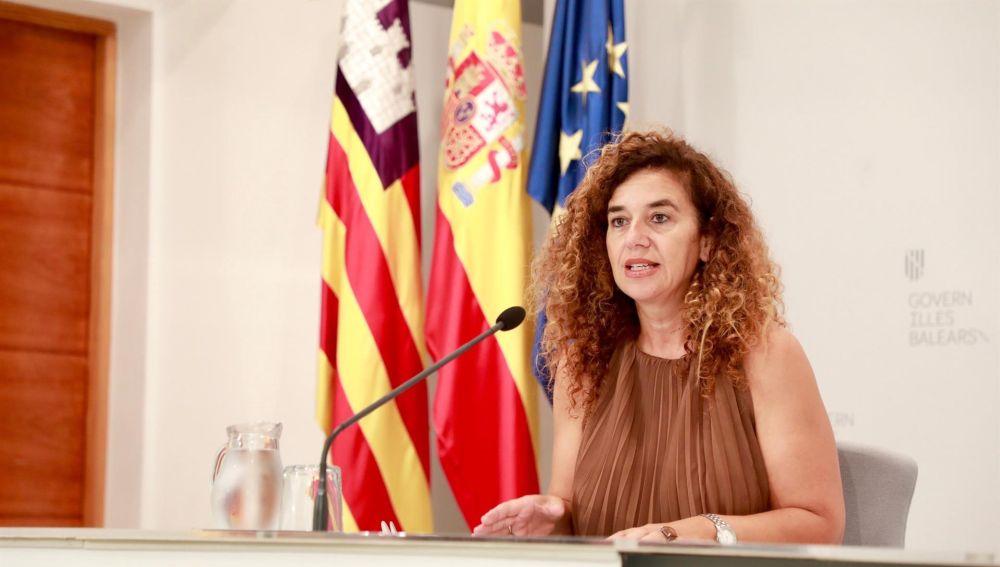 Pilar Costa, en Consell de Govern