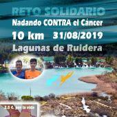 Mañana se nadarán 10 kilómetros para recoger fondos en la lucha contra el cáncer.