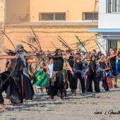 Asalto Moro de las fiestas patronales de Santa Pola de 2018.