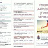 El lunes se abre el plazo de inscripción para las actividades y cursos de la Concejalía de Igualdad