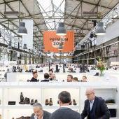 Expositores en la feria Gallery Shoes de Düsseldorf.
