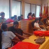 El Ayuntamiento de Ciudad Real ha recibido a los niños saharauis
