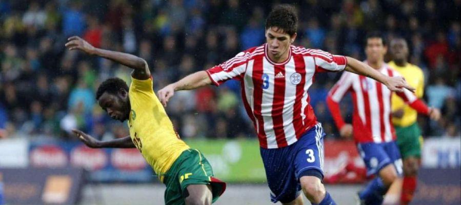 Danilo Ortiz fue internacional con la selección absoluta de Paraguay en el año 2014 y disputó los amistosos ante Camerún, Costa Rica y Francia.