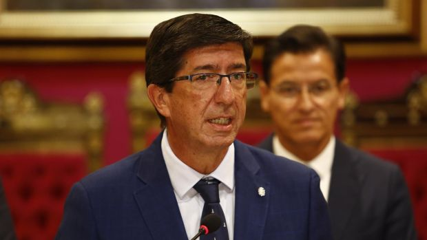 """Juan Marín: """"La sentencia es grave, suficiente para que en el PSOE tomen responsabilidades"""""""
