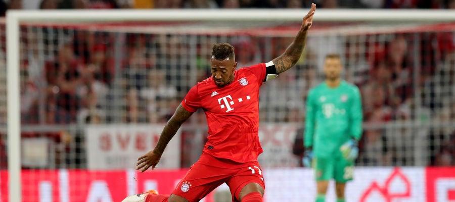 Jerome Boateng, en un partido con el Bayern de Múnich
