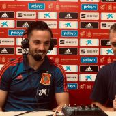 Pablo Sarabia y Fernando Burgos.