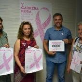 Antonio Gallego y Amuma han presentado la Carrera Rosa de Ciudad Real
