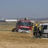 El Aeropuerto ha organizado un simulacro de accidente aéreo