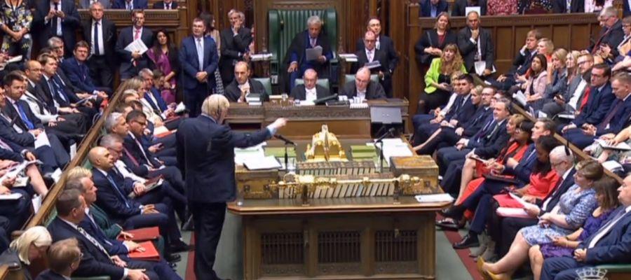 Johnson pierde el control del parlamento británico