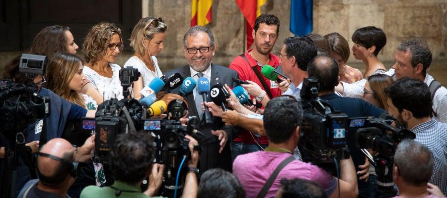 Pepe Martí, presidente de la Diputación de Castellón.
