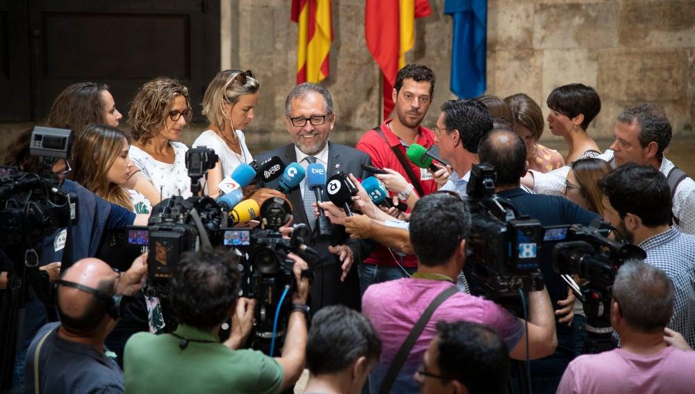 Imagen de archivo: Pepe Martí, presidente de la Diputación de Castellón.