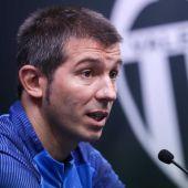 El técnico del Valencia, Albert Celades