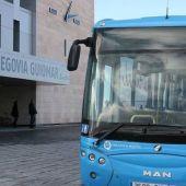 Autobús estación ave Segovia