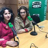 Gloria Poyatos e Inés Herreros