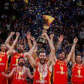 España gana el Mundial de baloncesto tras vencer a Argentina en la final