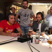 Sergio Scariolo, en El Transistor
