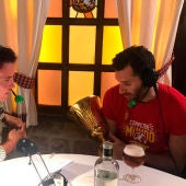 Rudy Fernández durante su entrevista en El Transistor