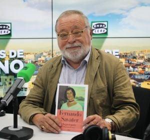 """Fernando Savater: """"Mi sorpresa ha sido que he seguido viviendo después de perder a mi mujer"""""""