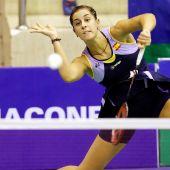 Carolina Marín, durante un partido