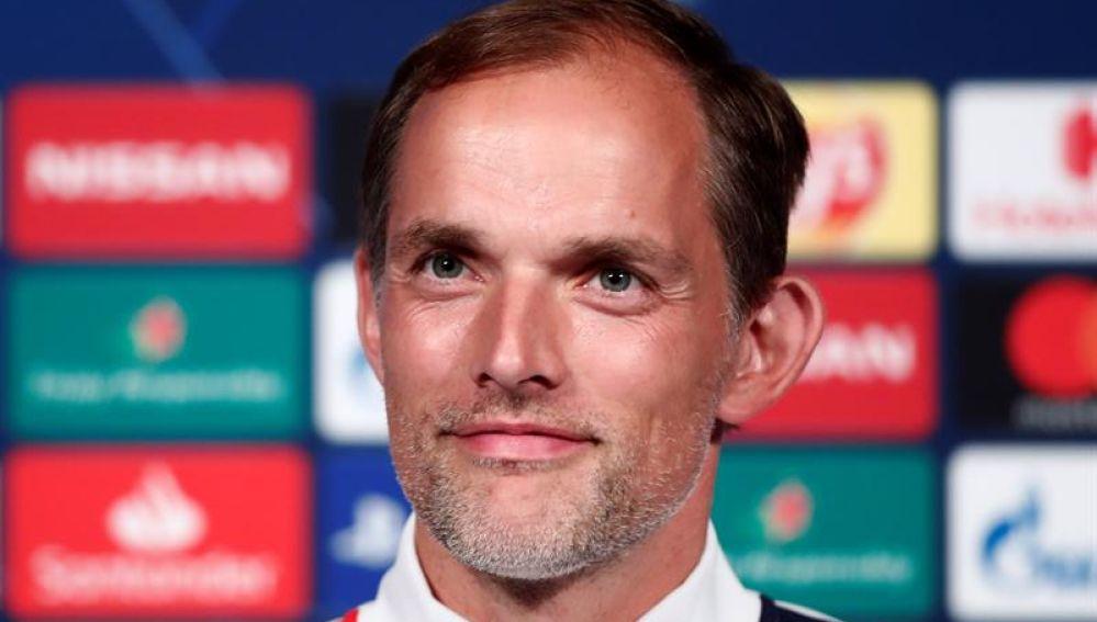 El entrenador del PSG, Thomas Tuchel.