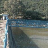 El pantano de Gasset apenas sobrepasa los 14 hectómetros cúbicos de agua
