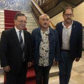 Reunión entre José María Álvarez y Juan Jesús Vivas Lara