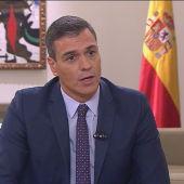 Pedro Sánchez responde a Ferreras en Moncloa