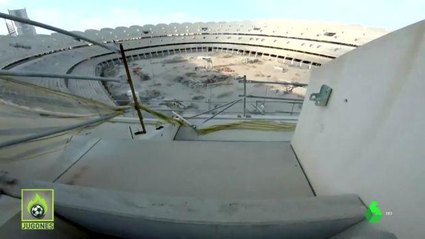 Jugones (20-09-19) El Nuevo Mestalla, desde dentro: se cuelan y graban el estado de las obras