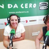 Jessica Piñero y Belén Candela de la Fundación Salud Infantil