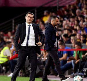 """Ernesto Valverde: """"Nos está faltando contundencia"""""""