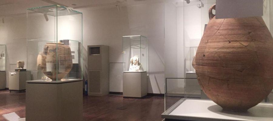 La Dama de Elche en la exposición del MARQ en el Museo Nacional de Irán.