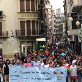 Desfile del Orgullo LGTBI 2019 en Elche.