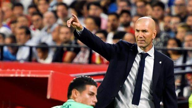 """Zidane: """"Me alegro por mi equipo, han dado todo en el campo y se lo merecen"""""""