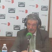 Rafael Gómez Arribas, durante la entrevista en Onda Cero Ciudad Real