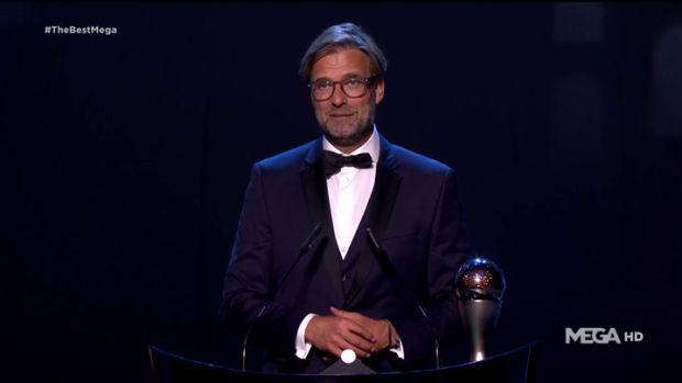 Jurgen Klopp, The Best al mejor entrenador