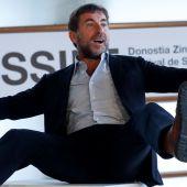 Antonio de la Torre, en el photocall de 'La trinchera infinita' en San Sebastián