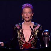 El reivindicativo discurso de Megan Rapinoe tras llevarse el premio FIFA The Best a mejor jugadora del año