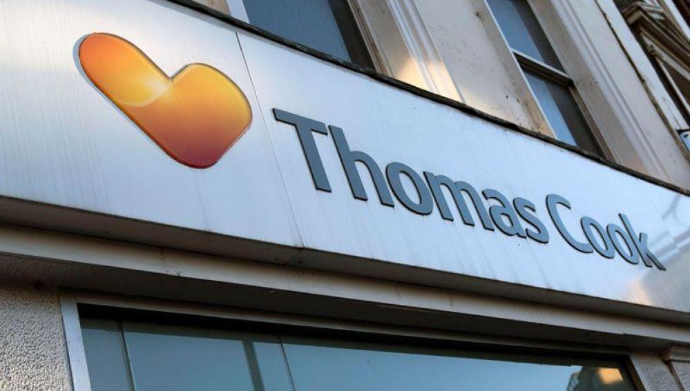 Una de las oficinas de Thomas Cook en Londres