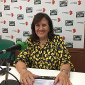 María José Calderon, durante la entrevista en Onda Cero Ciudad Real