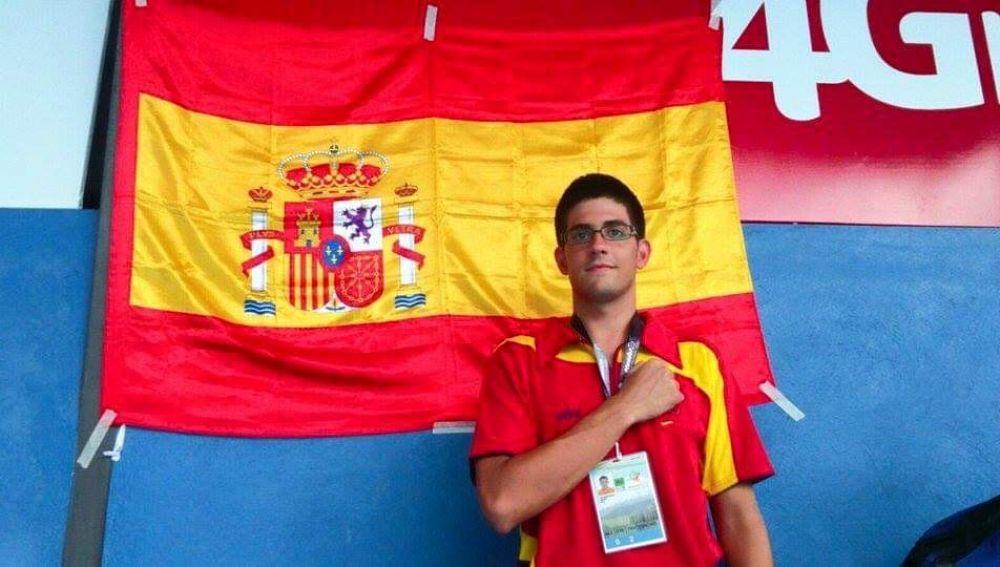 El nadador ilicitano Luis Paredes Marco representará a España por séptima vez y viajará a Brisbane junto a los 33 deportistas y técnicos de la FEDDI.