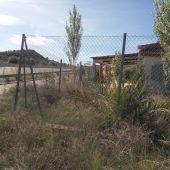 Vivienda a escasos metros de la A-7 en la partida Vallongas-Ferriol de Elche.