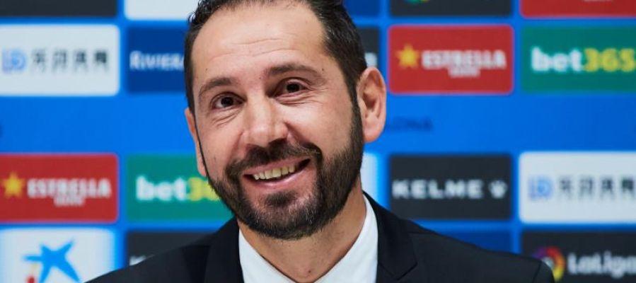 Pablo Machín, entrenador del Espanyol