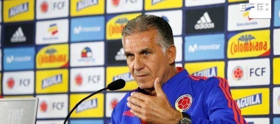 El seleccionador de Colombia, Carlos Queiroz.