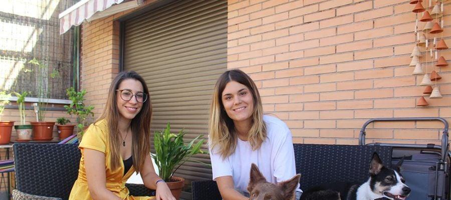Elvira Sastre en la entrevista con 'Como el perro y el gato'