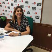 Rosa Romero, durante la entrevista en Onda Cero Ciudad Real