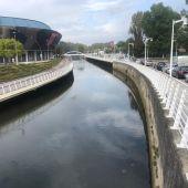 Cauce del río Piles en Gijón