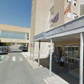 Acceso al hospital Marina Baixa