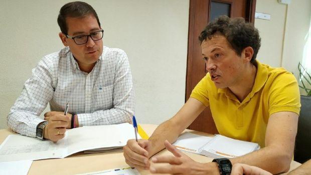 Ambos representantes de la Conselleria y el Ayuntamiento.