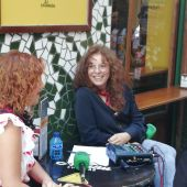 Begoña Gómez de la Fuente, en Zaragoza